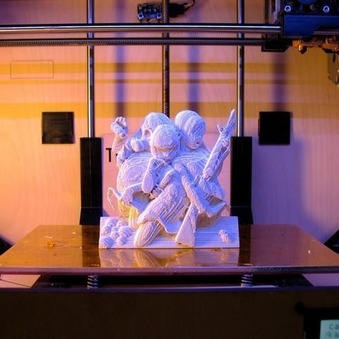Download free 3D printer templates Kazuki Takamatsu Girls, ErnyCrazyPrinter