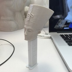 Free 3D print files Pezfertiti, ErnyCrazyPrinter