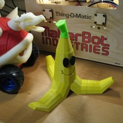 Download free STL file Banana Peel, ErnyCrazyPrinter