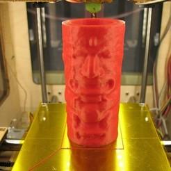 Free 3D printer model Tiki Scan #1, ErnyCrazyPrinter
