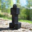 Download free STL Minecraft Creeper Keychain, Jimmydelgadinho45