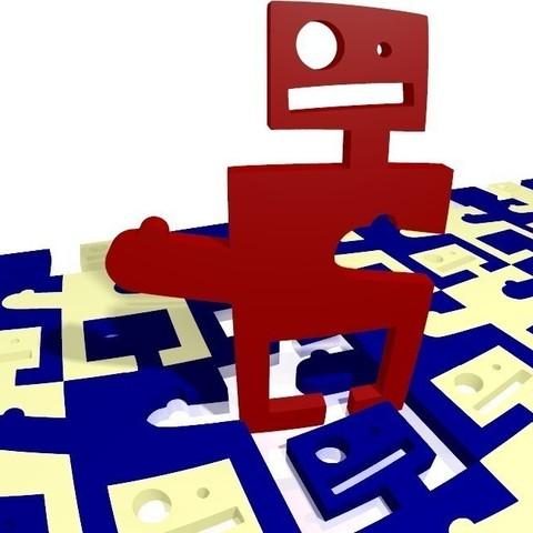 Télécharger fichier impression 3D gratuit Robot perplexe - Paramétré, Jimmydelgadinho45