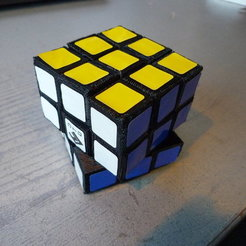 Free 3D printer designs Rubik's Magic Cube, Jimmydelgadinho45