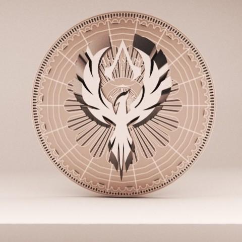 Download 3D printing designs Assassin's Creed Coin, baselrafat