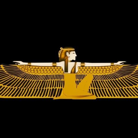 3D print model Ancient Egyptian Deities Pharaoh, baselrafat