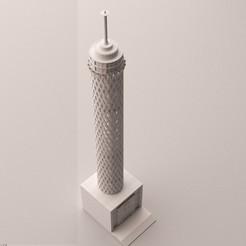 Impresiones 3D torre del cairo, baselrafat