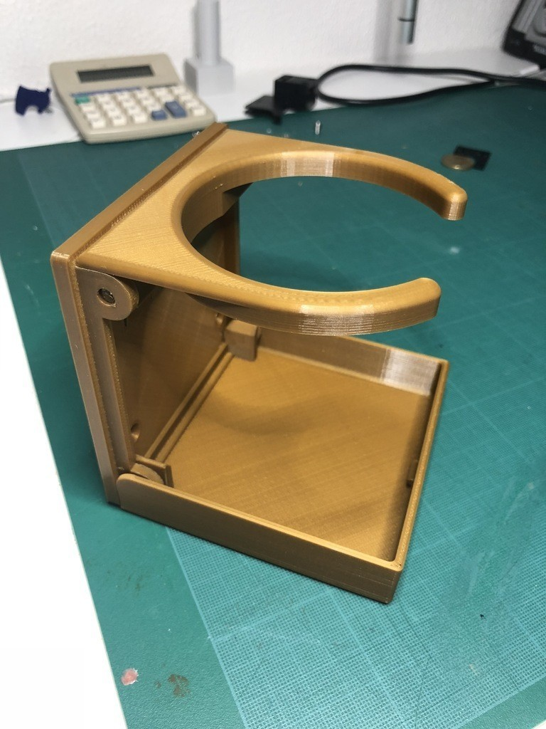 24e5762bdd3faa87f42a7ed6f1a23be4_display_large.JPG Download STL file Foldable Cup Holder • Object to 3D print, 3DED
