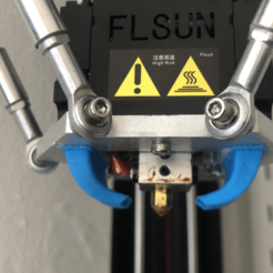 Download free 3D printer templates FLSUN QQ Fan Duct, 3DED