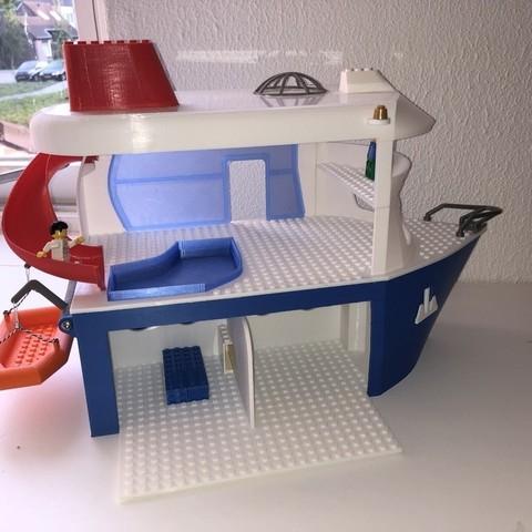 Mod le 3d gratuit bateau de croisi re pour enfants - Modele lego gratuit ...