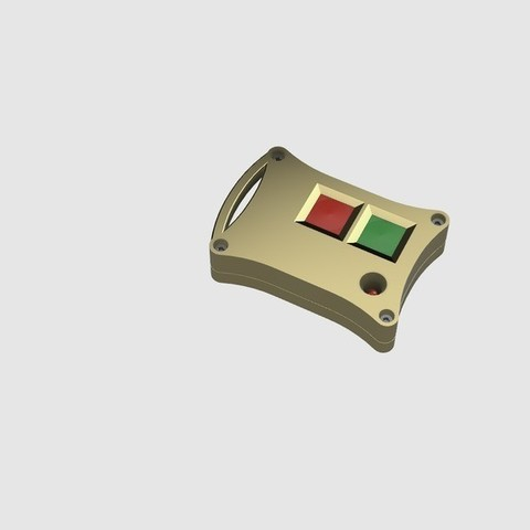 Free stl Car Alarm (AutoNorm TX 40) Remote Enclosure Restore, 3DED