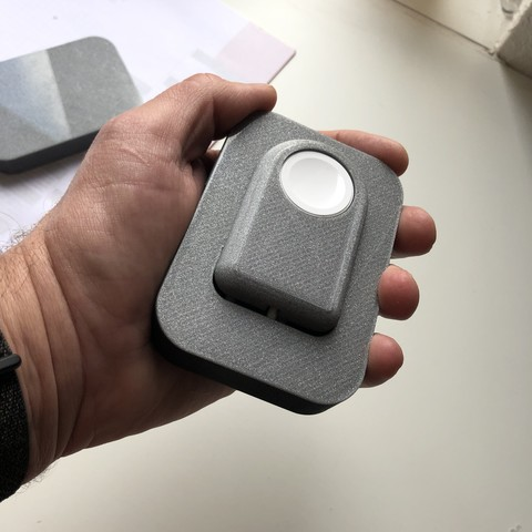 Télécharger fichier impression 3D gratuit Apple Watch 4 Chargeur étui de voyage et table de nuit Apple Watch 4, 3DED
