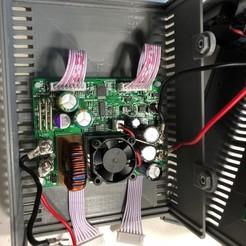Descargar STL gratis Maletín para el módulo de fuente de alimentación de reducción doble DPS5015 y DP30V5A, 3DED