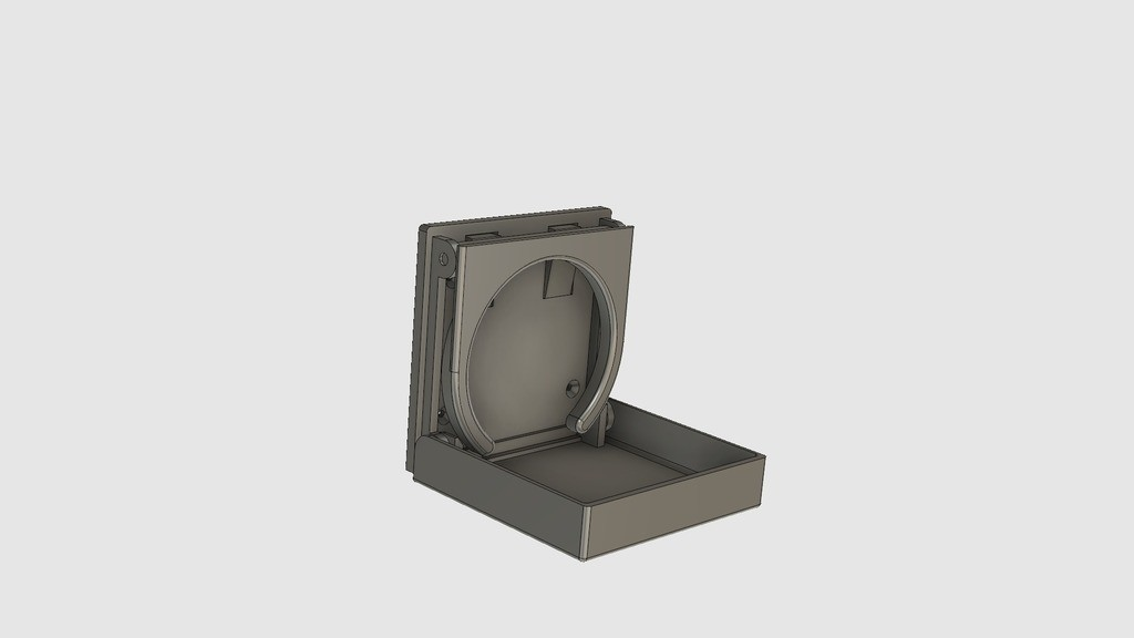 43fe157ed70ca0adcee02eb95d37f8a2_display_large.jpg Download STL file Foldable Cup Holder • Object to 3D print, 3DED