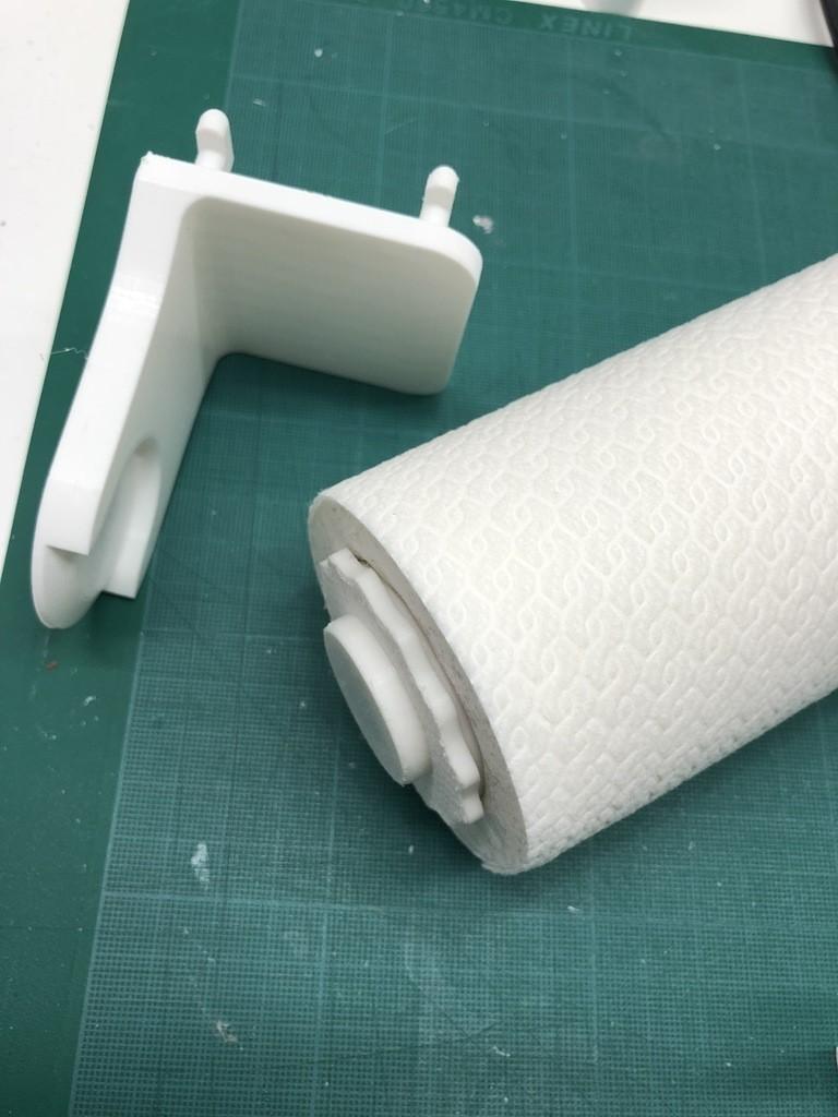 cd2126f89563e21a4fb61075aa89d25b_display_large.JPG Télécharger fichier STL gratuit Porte-serviettes en papier GRAB et GO. (Pour montage mural ou sur panneau IKEA !) • Design imprimable en 3D, 3DED