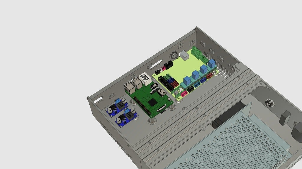 af8ff09d62079bc4e1297ca6c40e3953_display_large.jpg Download free STL file CR10(S) Upgrade to PRO • 3D printer design, 3DED