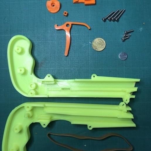 IMG_9350.jpg Download free STL file Bottle Opener and Cap GUN! • 3D printable template, 3DED