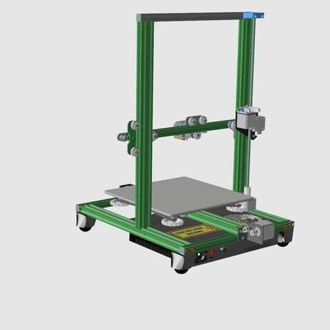 375af9f1b04fdb3dcd4679b7a715ee7c_display_large.jpg Download free STL file CR10(S) Upgrade to PRO • 3D printer design, 3DED