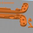 Download free STL Bottle Opener and Cap GUN!, 3DED