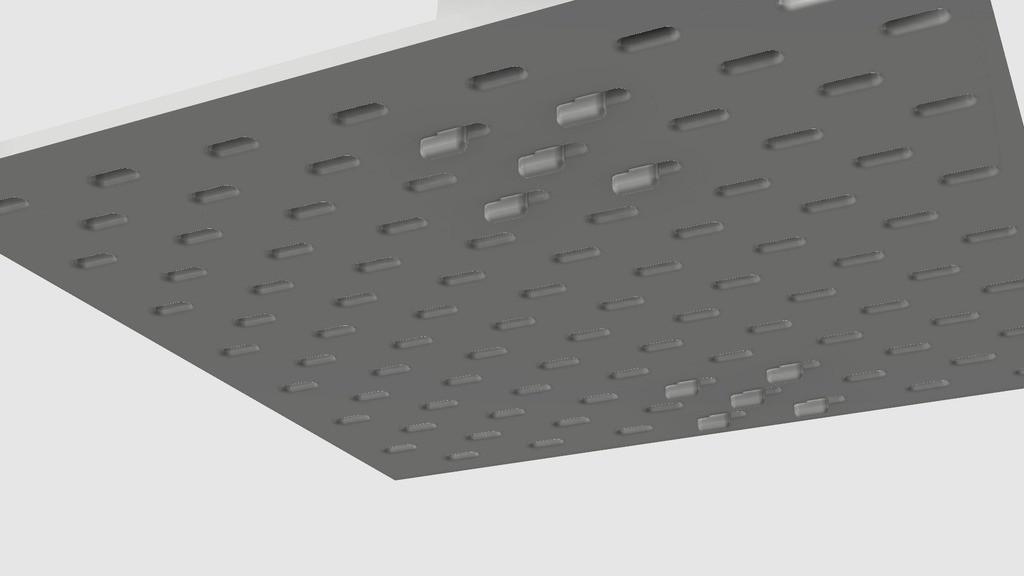 5bc9cf9295f092fce1fe6fd450323dda_display_large.jpg Télécharger fichier STL gratuit Porte-serviettes en papier GRAB et GO. (Pour montage mural ou sur panneau IKEA !) • Design imprimable en 3D, 3DED