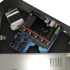FLSUN_QQ-S_v5_Pic_3.png Download free STL file FLSUN QQ(S) BTT SKR1.4 or 1.3 or Turbo Upgrade WITH Raspberry Pi! • 3D printer template, 3DED