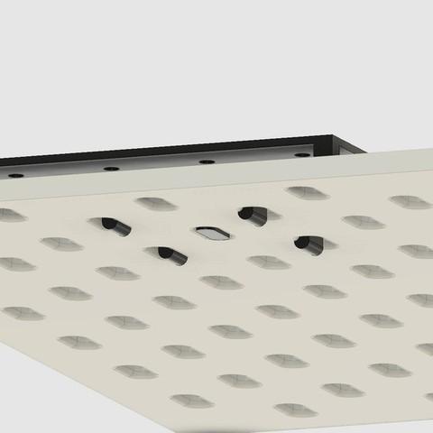 1a051302f68eab8f6fb7dd3e95f3ee52_display_large.jpg Download free STL file Standard Pegboard to Ikea Skadis adapter board • 3D printing model, 3DED
