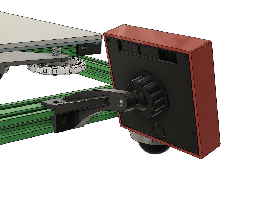 Cr10-S_Screen_holder_pipc_4_v10.png Télécharger fichier STL gratuit CR10(S) Support de tamis pour aluminium extrudé 20x20 ou 20x40 • Plan à imprimer en 3D, 3DED