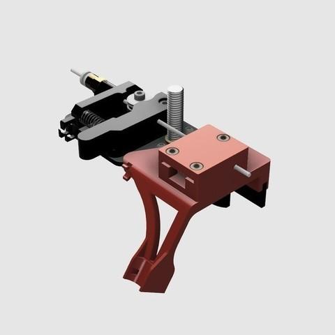 Télécharger STL gratuit Censeur Creality CR-10S Ultimate Filament Run Out avec guide de câble à axe Z, 3DED