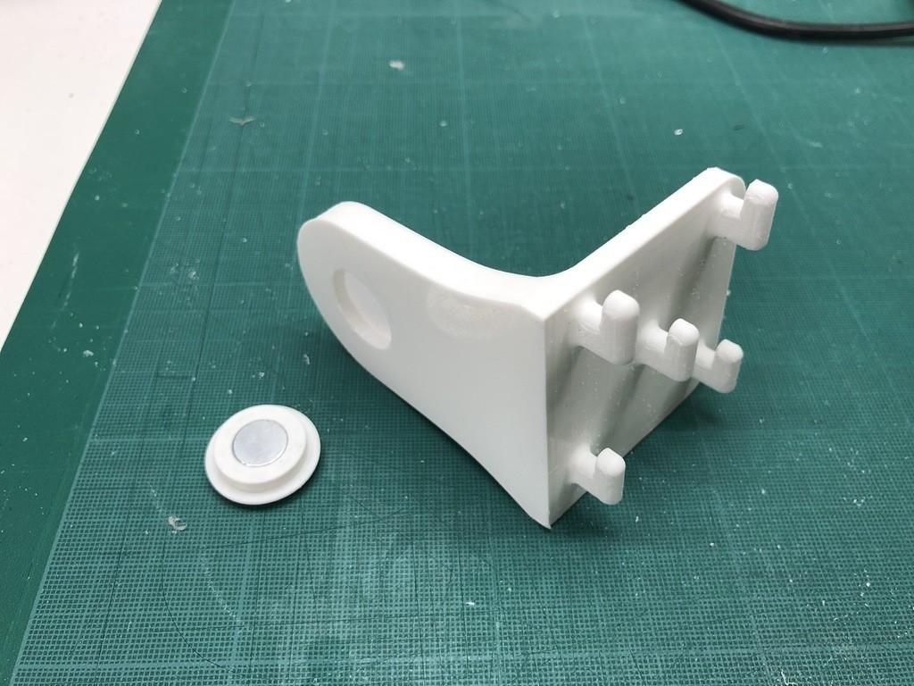 eb534bd289b7befc0335de9befed99b7_display_large.JPG Télécharger fichier STL gratuit Porte-serviettes en papier GRAB et GO. (Pour montage mural ou sur panneau IKEA !) • Design imprimable en 3D, 3DED