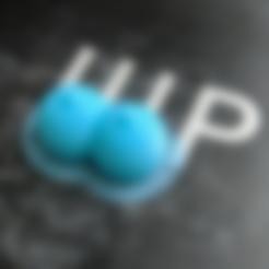 Download STL Boobs Keychain, dbish