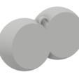 STL file Boobs Keychain, dbish