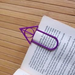 Descargar archivo STL gratis Marcador Harry Potter • Objeto para impresora 3D, Phouky