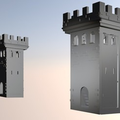 img-torre.jpg Download STL file Tower • Design to 3D print, borjajusticialeon