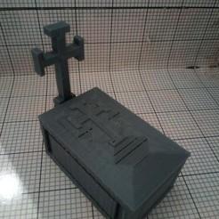 Impresiones 3D gratis tumba, borjajusticialeon