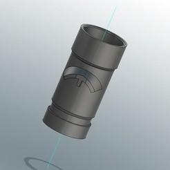 Descargar diseños 3D gratis adaptador de vacío dyson, AH-3D