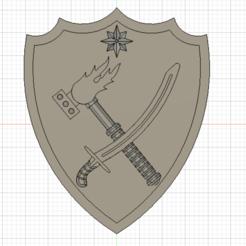 Download 3D printer designs Warhammer Fantasy Sigmar Badges, Argon
