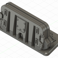 1.png Download OBJ file  Shield barricade inspired Fallout for wargames • Design to 3D print, Argon