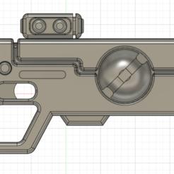 1.png Download OBJ file Tau Pulse pistol • 3D print template, Argon