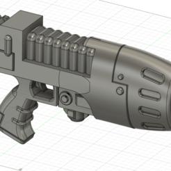 1.png Télécharger fichier STL Pistolet à plasma pour le cosplay de warhammer40000 • Plan pour impression 3D, Argon