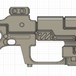 Download STL files Tau Pulse carbine for cosplay, Argon