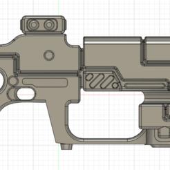 1.png Download OBJ file Tau Pulse carbine for cosplay • 3D printer model, Argon