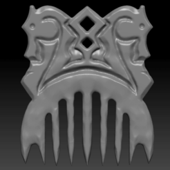 1.png Download OBJ file Slavic comb • Object to 3D print, Argon