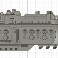 1.png Télécharger fichier OBJ Flotte de combat Star Galleon gothique de classe Conquête • Objet à imprimer en 3D, Argon