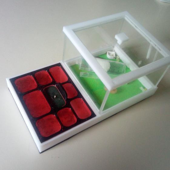 1.png Descargar archivo STL Hormiguero de lujo Box v1 (4ants) • Objeto para imprimir en 3D, 4ants