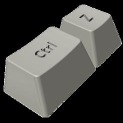 a.png Download STL file Ctrl + Z Keychain • 3D printer design, 4ants