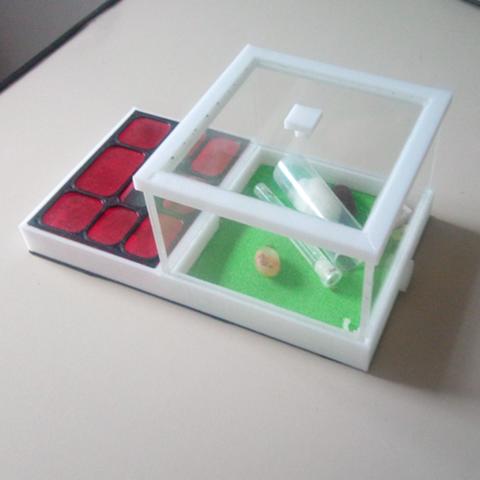 2.png Descargar archivo STL Hormiguero de lujo Box v1 (4ants) • Objeto para imprimir en 3D, 4ants