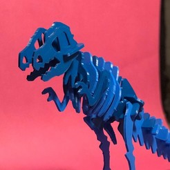 11.jpg Download STL file T-REX 3d puzzle for kids  • 3D print object, archiahmednabil