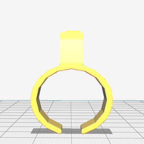 perfil.png Download free STL file Joint / cigarette ring ring • 3D printing design, adria9816