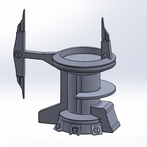 3D printing model tau tower, gazz_toohey