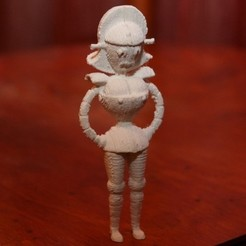 Download free 3D printing models Angelyne Futurama, billythemighty3Dprinter