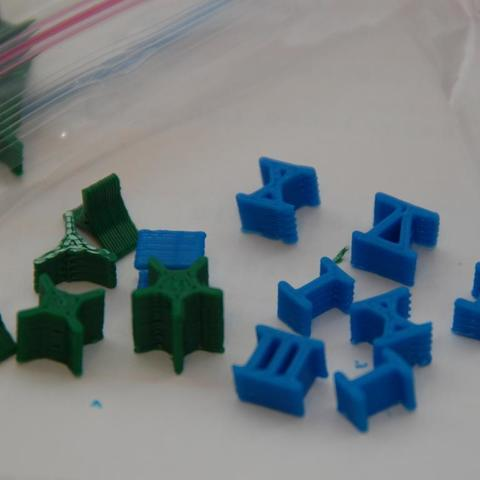 Download free 3D printer designs Risk Pieces (Star and Roman Numeral), billythemighty3Dprinter